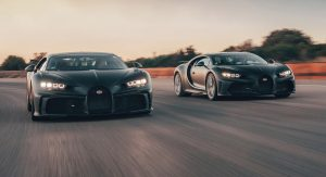 Bugatti Chiron Super Sport 300+ And Pur Sport Taken To Nardo For Some Fine-Tuning
