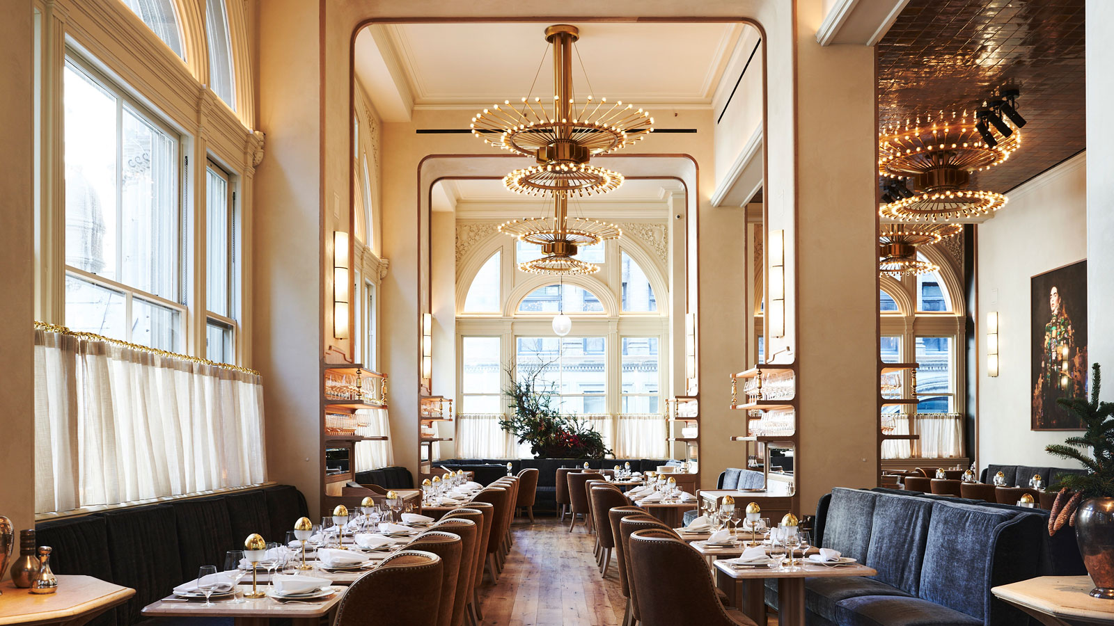 Turning Tables: Stephen Starr's Transportive European Eatery Opens in New York