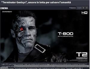 Gli strafalcioni di repubblica colpiscono Terminator Genesys