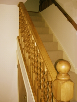 Gallery Featuring Stairs And Spindles   Barley Twist Stair Spindles   Antique   Square   Victorian   Provincial   41Mm