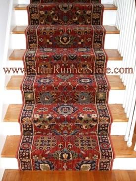 Karastan Stair Runners Karastan Stair Carpet Runner By The Foot | Roll Runners For Stairs | Flooring | Carpet Stair Treads | Canyon Kazmir | Persian Garden | Area Rugs