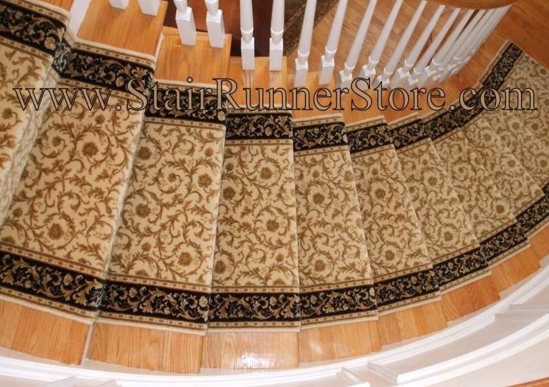 Stair Carpet Archives • Stair Runner Store Blog   Traditional Stair Carpet Runners   Bespoke   Patterned   Modern   Stair Landing   Dark Stain