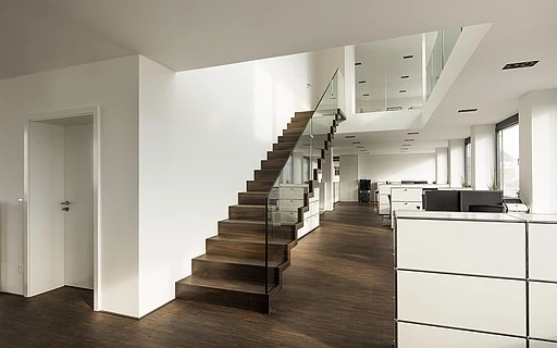 Interior Stairs Siller Stairs | Inside Home Stairs Design | Light | Small Place | Trendy Home | Low Cost | Drawing Room