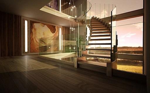 In esclusiva le foto e i video di appartamenti in città, loft metropolitani, ville e residenze d'autore. Turned Stairs Siller Stairs