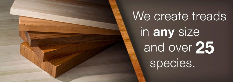 Stair Treads Risers Hardwood Oak Stair Treads In Curved | Wood Treads And Risers | Custom | Metal | Reclaimed Wood | Diy | Mahogany