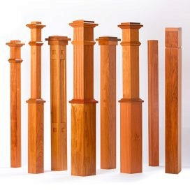Newels What Is A Newel All About Newel Posts For Stairs | Turned Newel Post Designs | Type | Spiral | Round | Wood Baluster | Black