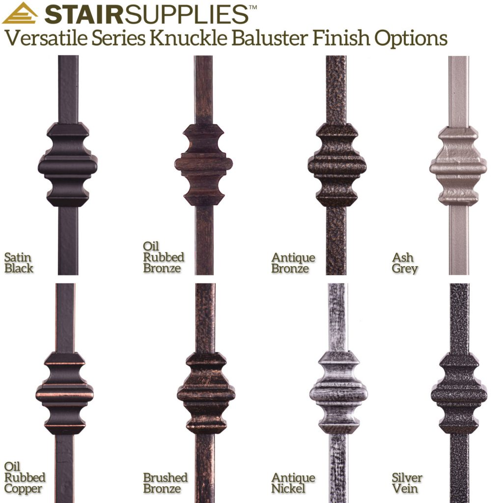 16135 Double Knuckle Iron Baluster StairSupplies