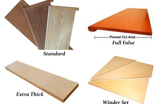 Solid Wood Stair Treads Oak Maple Birch Ash And   Custom Oak Stair Treads