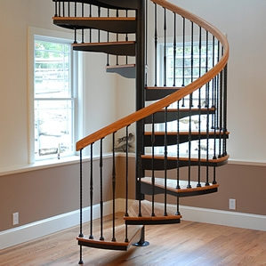 Spiral Stairs Spiral Staircases For Sale The Stairway Shop | Used Spiral Staircase For Sale | 4 Foot | Corkscrew | Contemporary | Steel | Outdoor