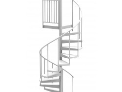 Spiral Staircase Kits 42 Diameter Metal Spiral Staircases   8 Ft Spiral Staircase   Staircase Ideas   Prefab   Curved Staircase   Staircase Remodel   Wood