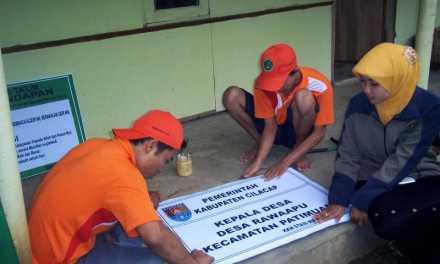 Foto KKN Mahasiswa STAIS Majenang 2014 di Rawaapu