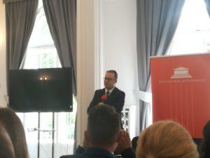 Rzecznik Praw Obywatelskich Adam Bodnar prezentuje swoje poglądy napolską politykę