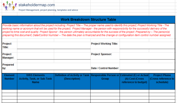 Top project management excel templates get a free smartsheet demo try smartsheet for free find the top project management templates in microsoft excel that you can easily download and use for free to help you track project status, communicate progress among team members and stakeholders, and manage issues as … Work Breakdown Structure Wbs Excel Template Free