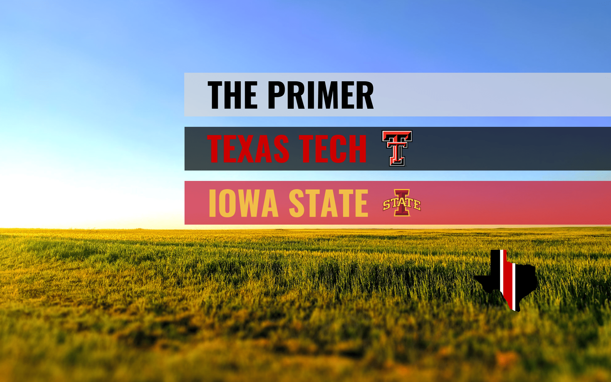 The Primer: Texas Tech Red Raiders vs. Iowa State Cyclones