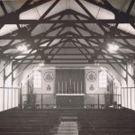 The Hut - interior 1948