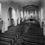 Interior of the Church before the extension was added in the mid 1960's