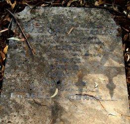 David Gray Staley, Gravestone at Yandoit