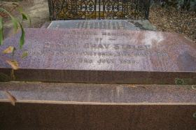 Daniel Gray Staley, Gravestone at Yandoit