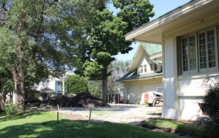 Restorations at the A.E. Staley Home in Decatur, Illinois