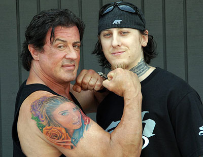 Studio: Mike DeVries Tattoos Encino, CA (818) 266-9445