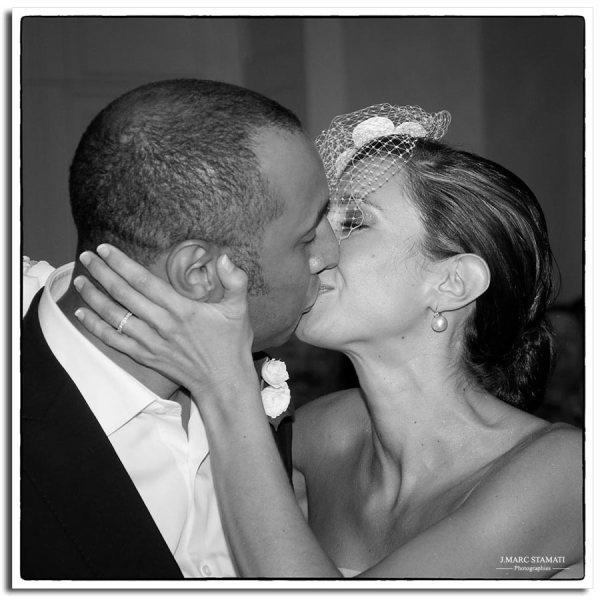 Le baiser - Noir & blanc