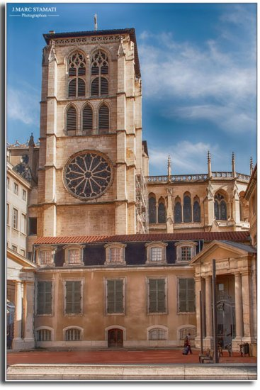 Lyon Cathédrale St Jean, jean marc stamati photographe