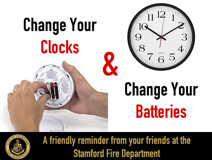 Its Time To Change Your Clocks Change Your Smoke Detector