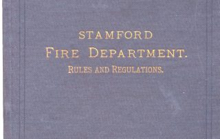 Cover of 1885 Book of Ordinances, Rules & Regulations