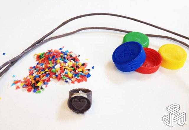 riciclo plastica stampa 3D