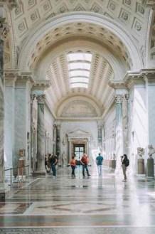 Musei Vaticani, una delle sale interne