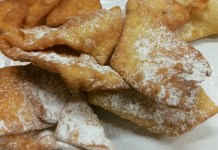 Uno dei dolci di carnevale più famoso: le frappe