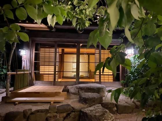 Stanza del bio-ryokan wabisabi