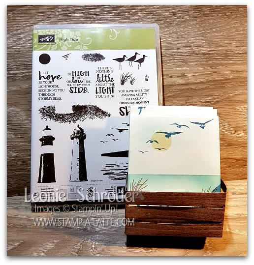 High Tide Crate of Cards - Leonie Schroder Indpendent Stampin' Up! Demonstrator Australia
