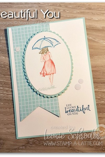 Beautiful You by Leonie Schroder Independent Stampin Up Demonstrator Australia