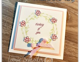 That's the Tag Wreath Card by Leonie Schroder Independent Stampin' Up! Demonstrator Australia