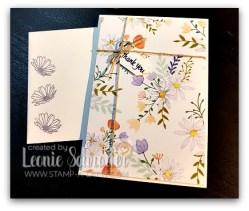 Delightful Daisy Notecards by Leonie Schroder Independent Stampin' Up Demonstrator Australia