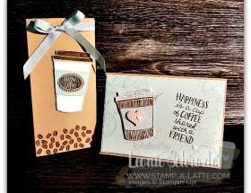 Coffee Cafe Set by Leonie Schroder Independent Stampin' Up! Demonstrator Sydney Australia