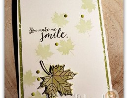 Falling Leaves using Colorful Season by Leonie Schroder Independent Stampin' Up! Demonstrator Australia
