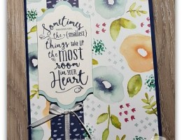 Naturally Eclectic card by Leonie Schroder Independent Stampin' Up! Demonstrator Australia