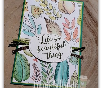 Just Add Color Card by Leonie Schroder Independent Stampin' Up! Demonstrator Australia