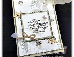 Painted Kindness using Painted Harvest by Leonie Schroder Independent Stampin' Up! Demonstrator Sydney Australia