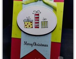 Happiest Christmas by Leonie Schroder Independent Stampin' Up! Demonstrator Australia