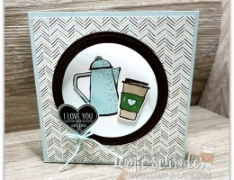 Merry Cafe Corner Pop Card by Leonie Schroder Independent Stampin' Up! Demonstrator Australia