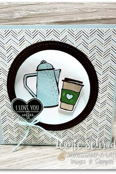 Merry Cafe Corner Pop Card by Leonie Schroder Independent Stampin' Up! Demonstrator Australia