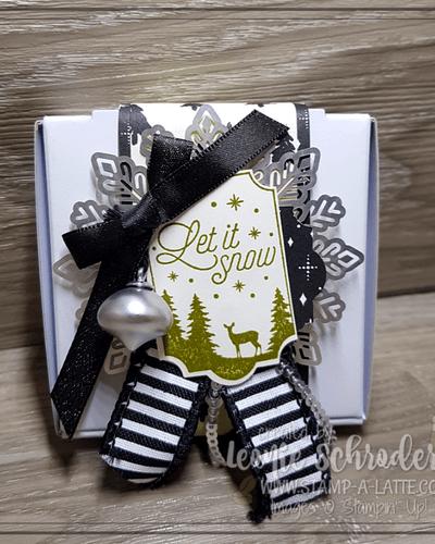 Mini Pizza Box Gift Box by Leonie Schroder Independent Stampin' Up! Demonstrator Australia