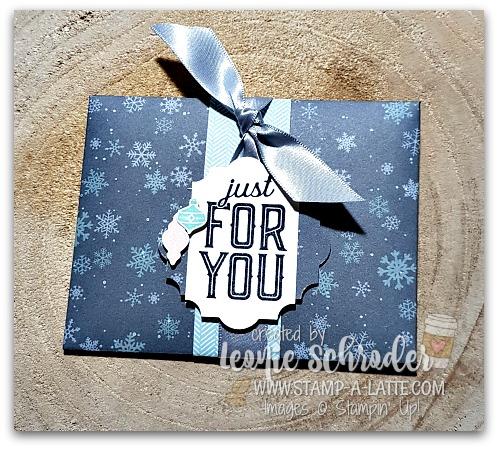 Gift Card Holder by Leonie Schroder Independent Stampin' Up! Demonstrator Australia