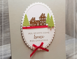 Hearts come Home by Leonie Schroder Independent Stampin' Up! Demonstrator Australia