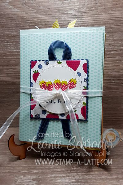 Tutti Frutti Set of Cards by Leonie Schroder Independent Stampin' Up! Demonstrator