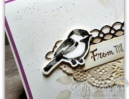 From the Heart using Petal Palette Stamp Set by Leonie Schroder Independent Stampin' Up! Demonstrator Australia