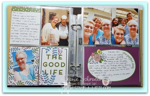 Double Layout using Sweet Soiree Memories & More Card Pack by Leonie Schroder Independent Stampin' Up! Demonstrator Australia